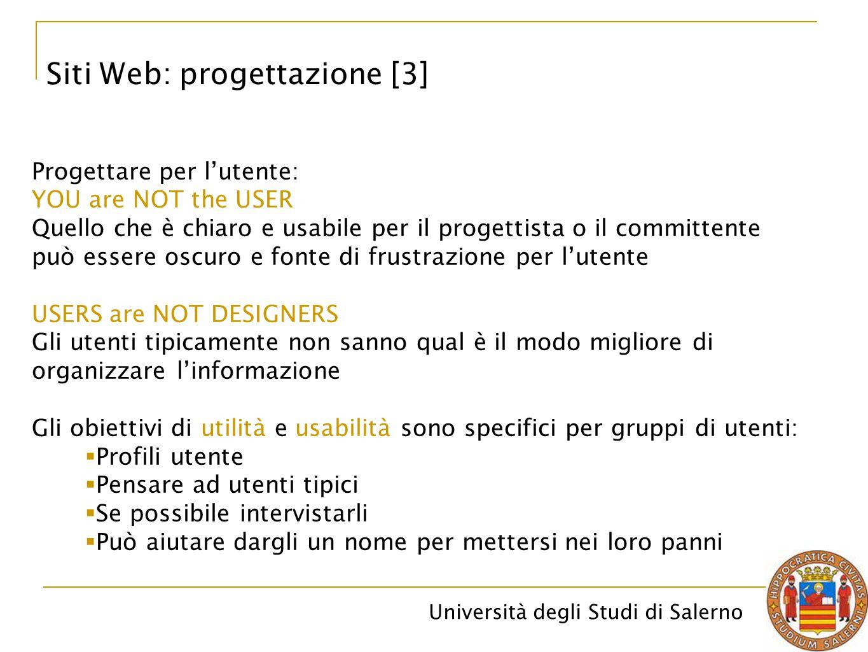 Siti Web: progettazione [3]
